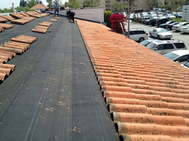 Clay Shingles Roof Replacement